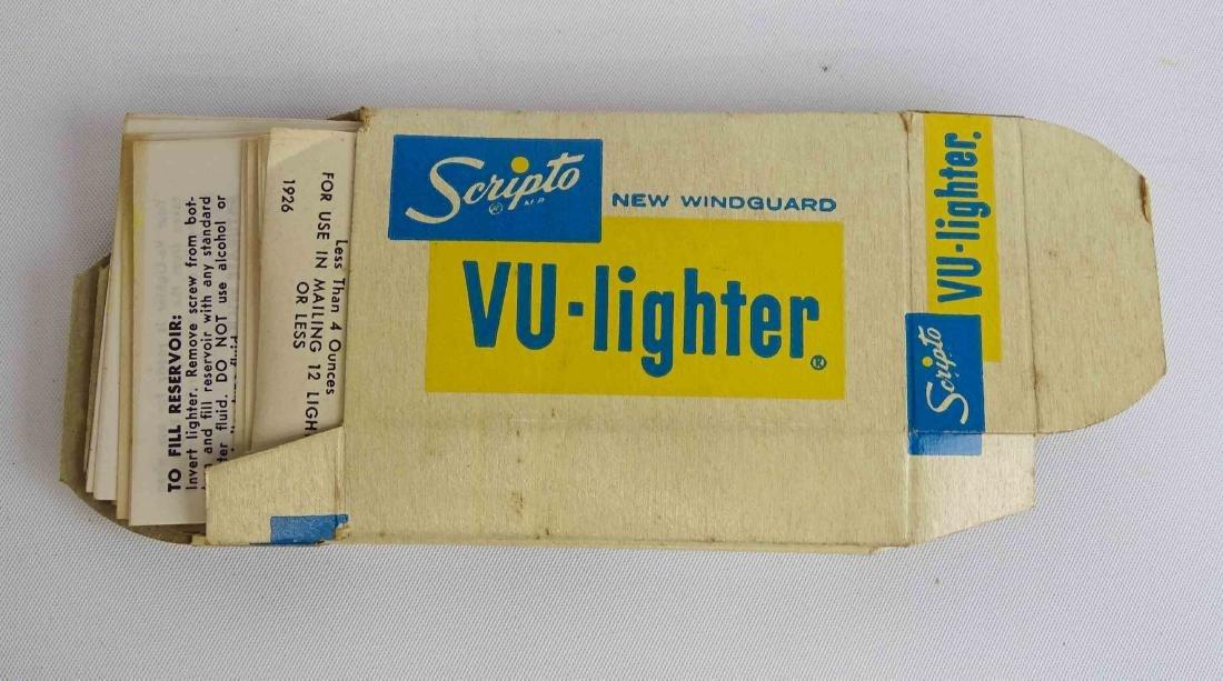 Vintage Scripto Lighter Display - 5