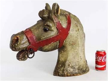19th c. Carousel Horse Head