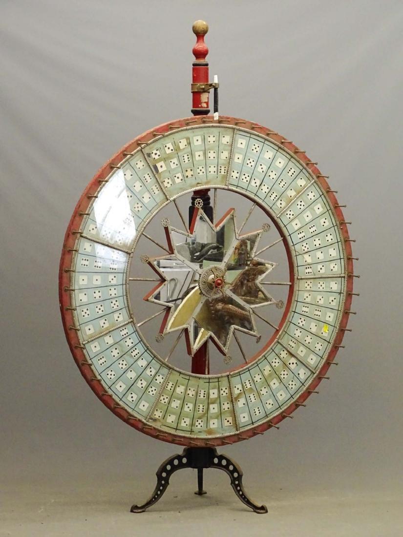 Vintage Game Wheel