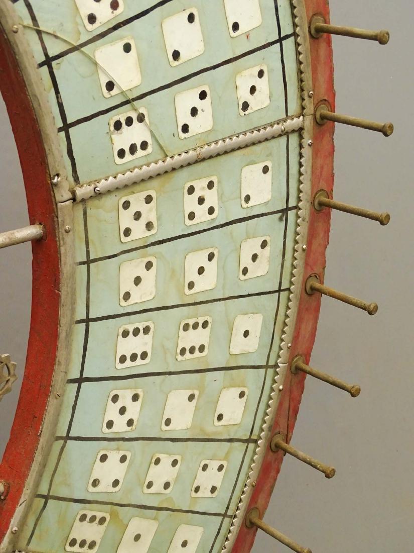 Vintage Game Wheel - 5