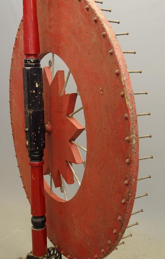 Vintage Game Wheel - 8