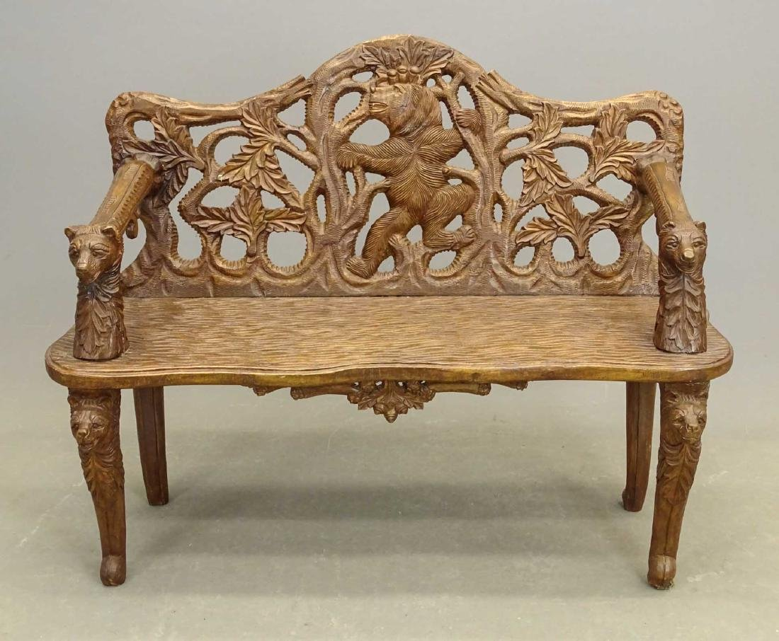 Black Forest Settee