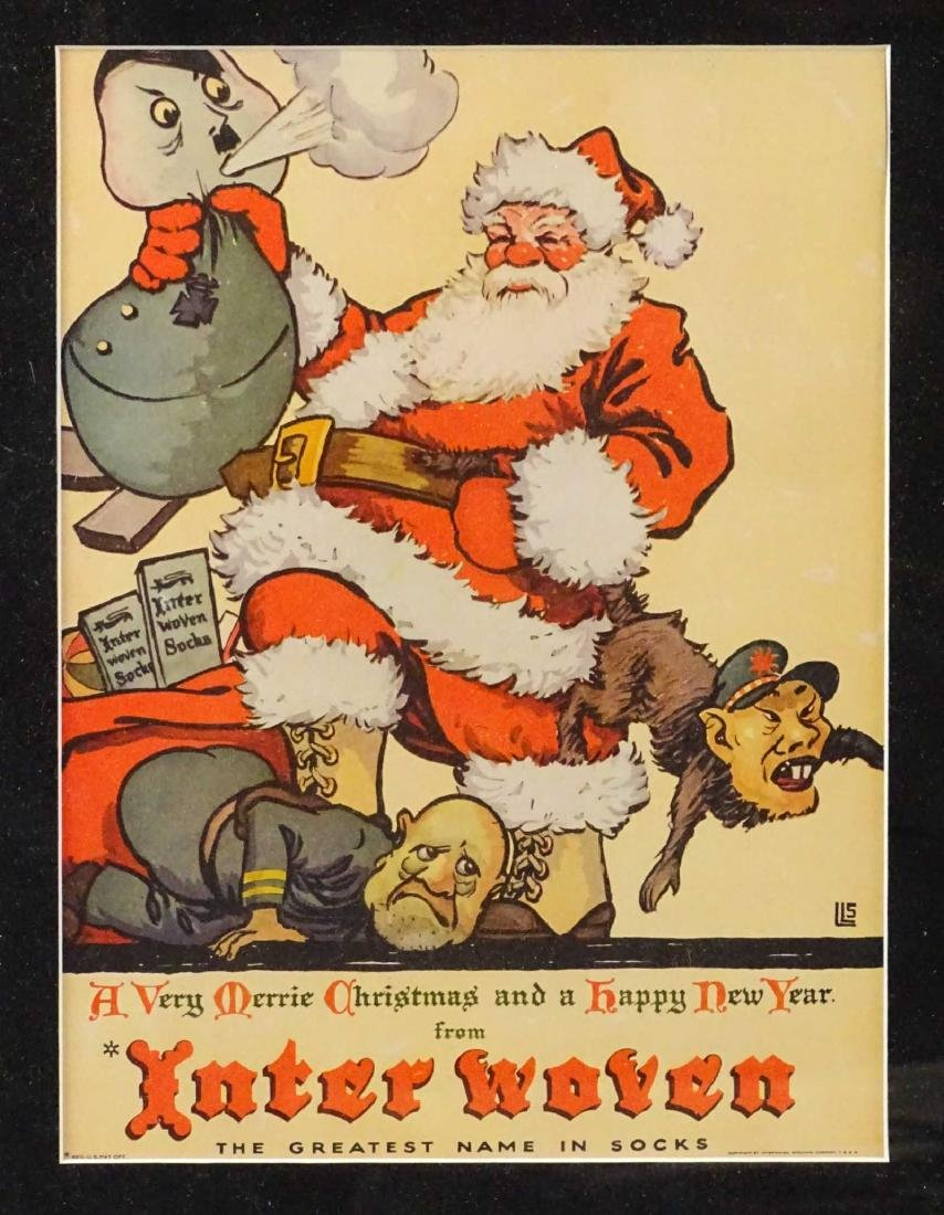 WWII Christmas Poster - 2
