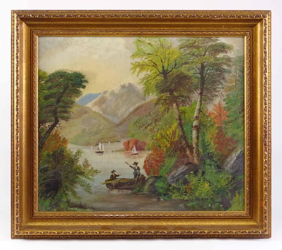 American School, 19th c. Landscape
