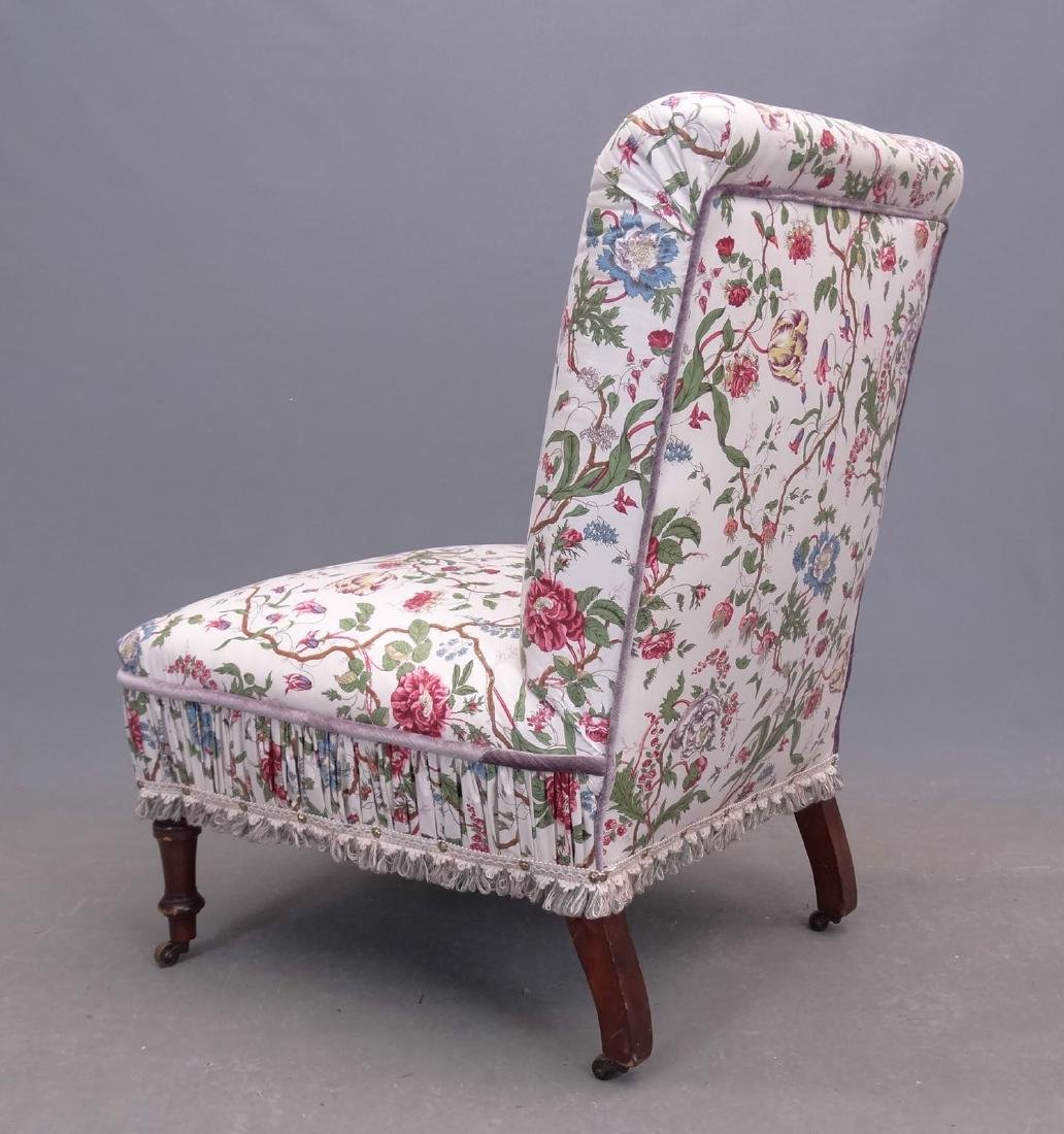 Early Upholstered Chair - 3