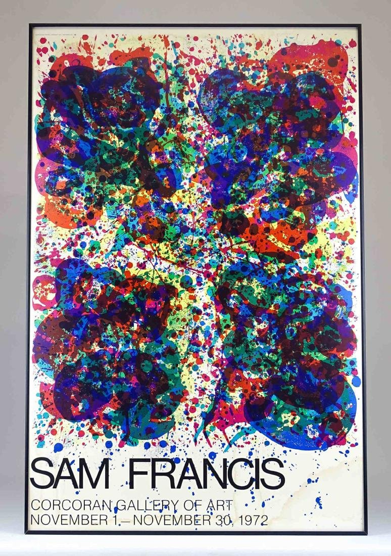 Am Francis Lithograph Exhibition Poster