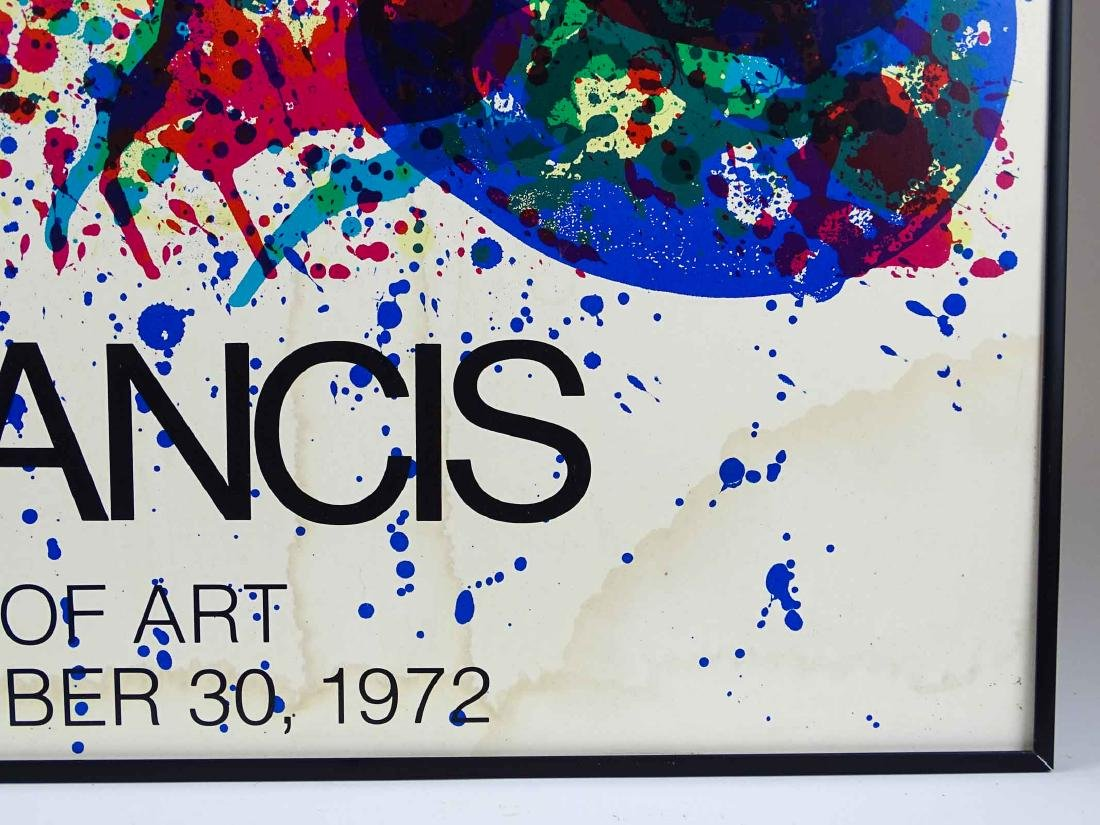 Am Francis Lithograph Exhibition Poster - 2