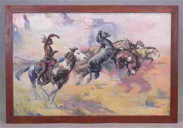 American School, Native American Western Scene