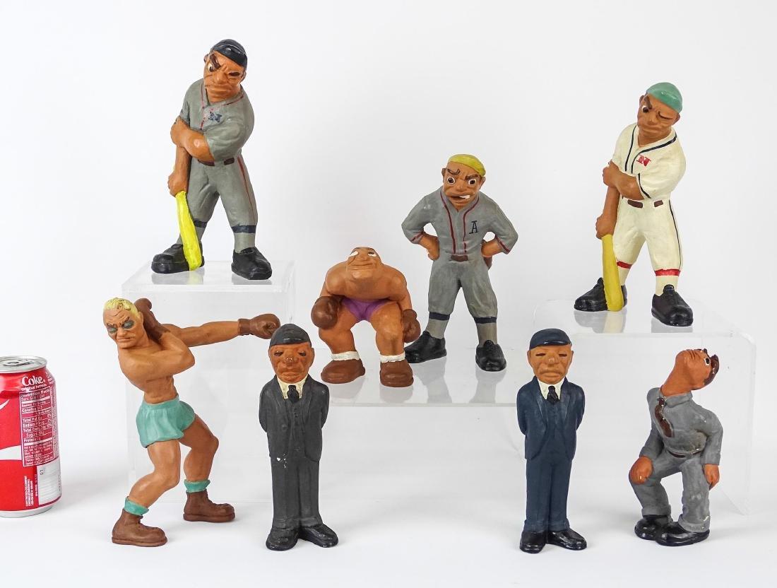C. 1940's-50's Statues