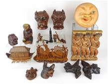 Wood Carving Lot
