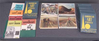 New York Worlds Fair Art Booklets