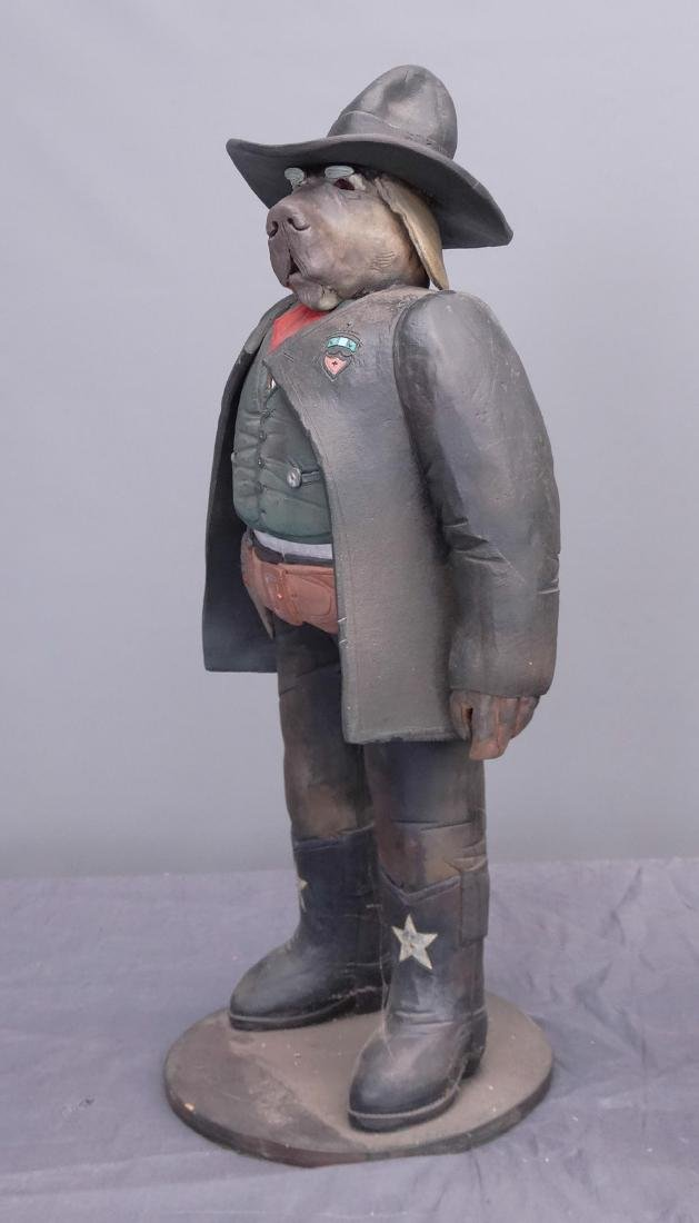 Pottery Cowboy Animal Figures - 3