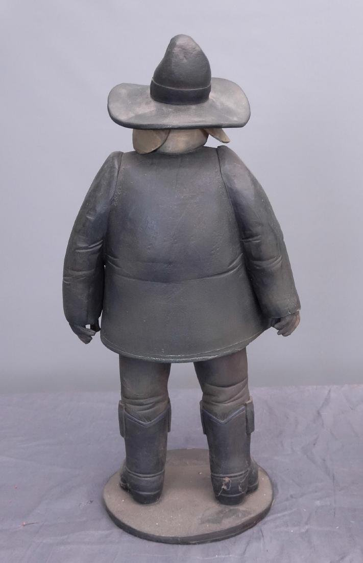 Pottery Cowboy Animal Figures - 4