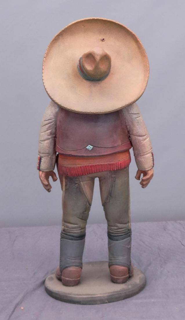 Pottery Cowboy Animal Figures - 9