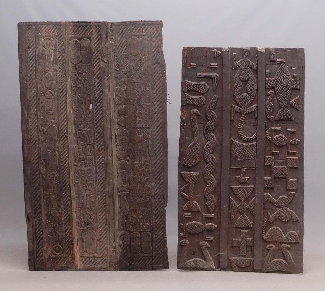 African Carved Doors