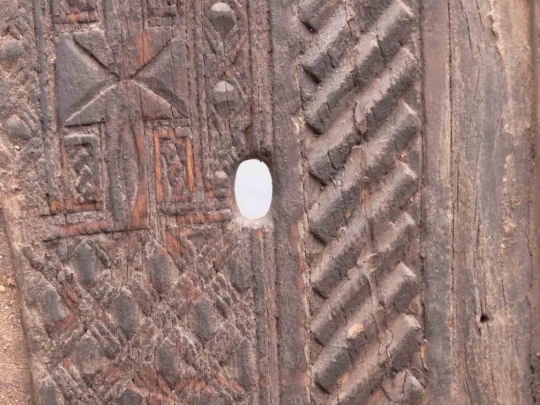 African Carved Doors - 4
