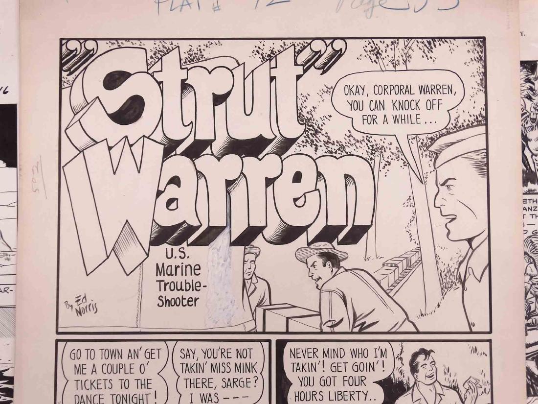 Original Comic Art Lot - 2