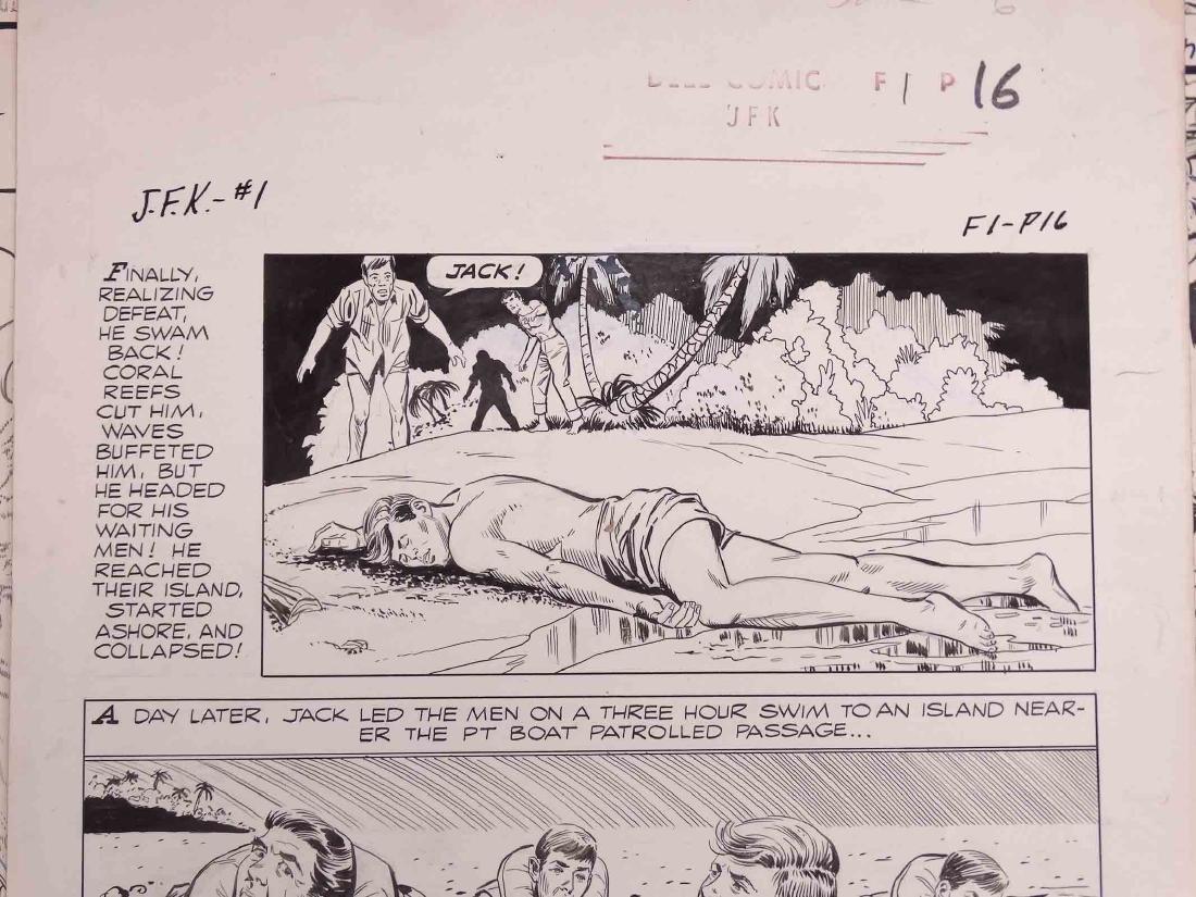 Original Comic Art Lot - 3