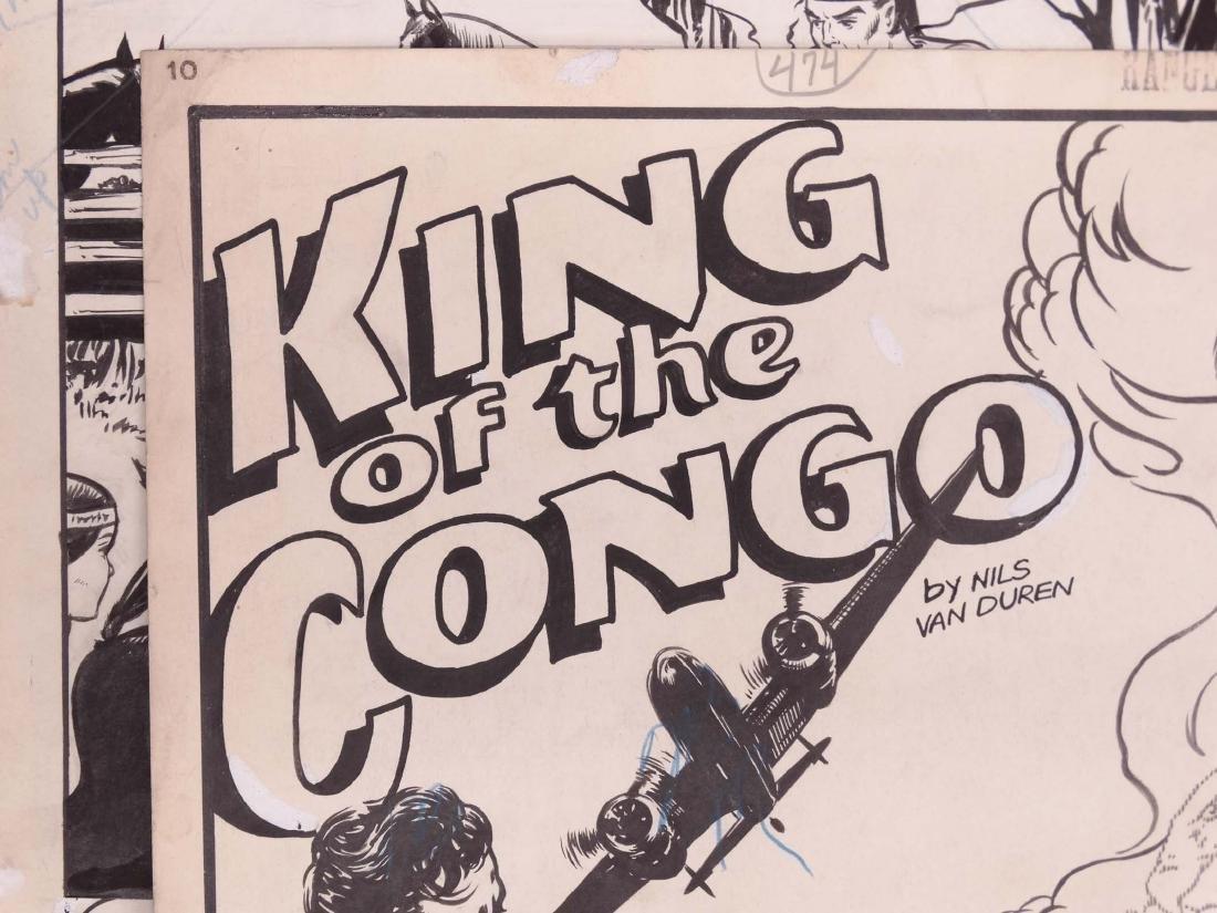 Original Comic Art Lot - 4