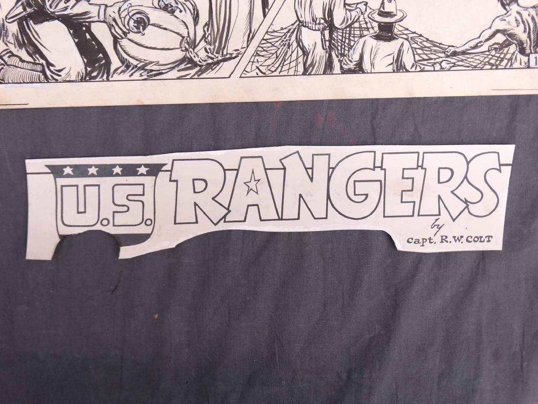 Original Comic Art Lot - 5