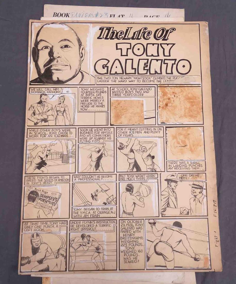 Original Comic Art Lot - 7