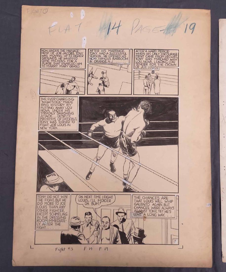 Original Comic Art Lot - 8