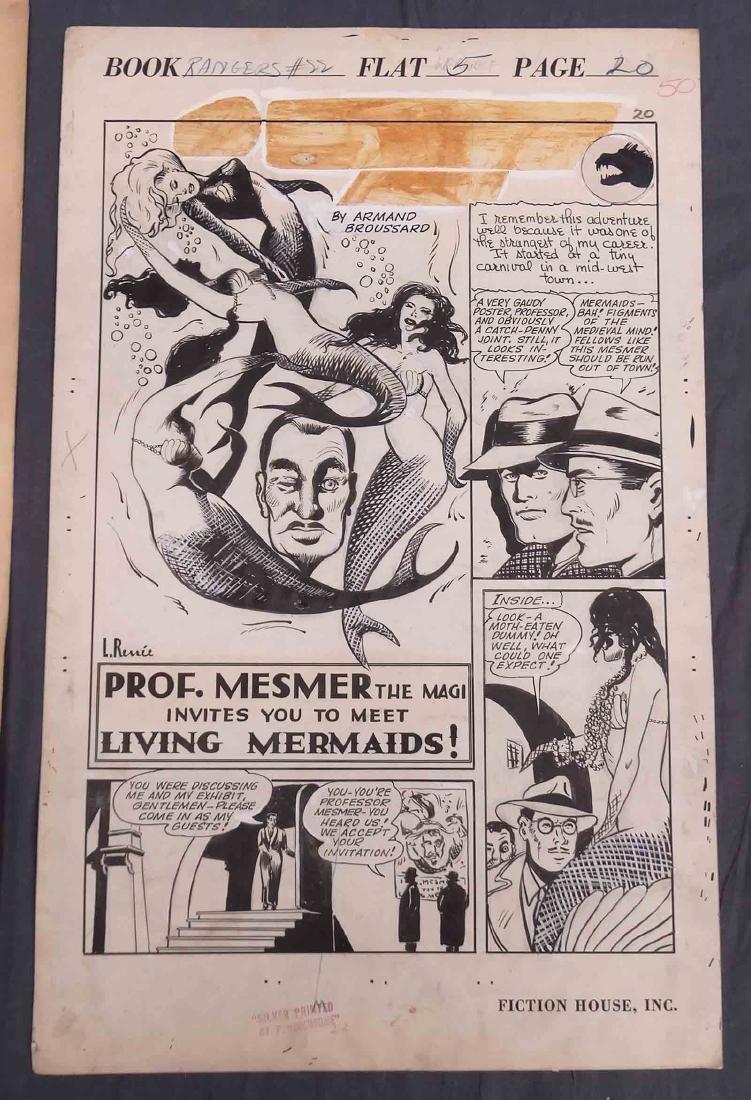 Original Comic Art Lot - 9