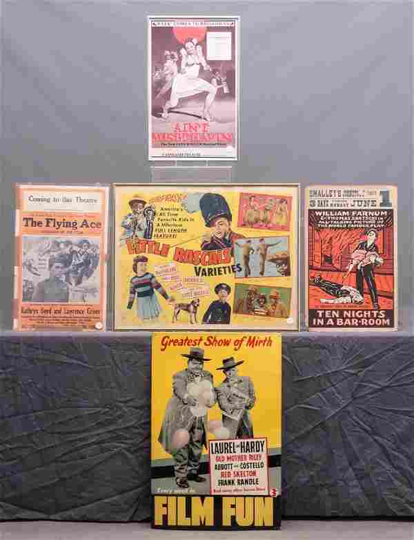 Movie Posters & Misc. Lot