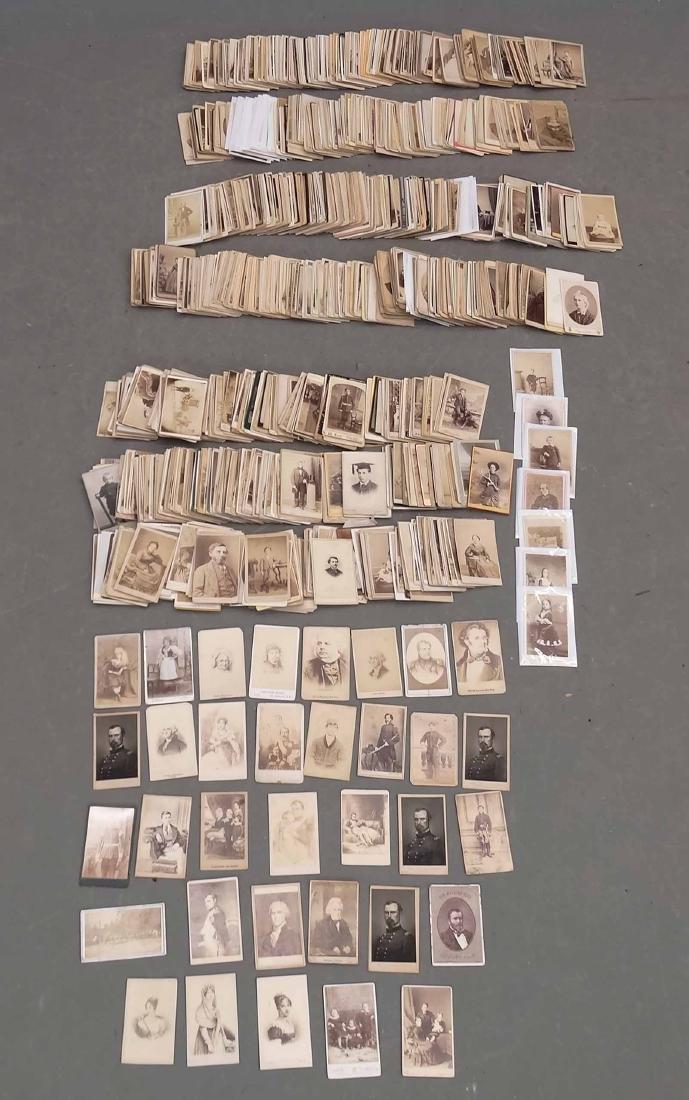 Collection Of Carte De Visites