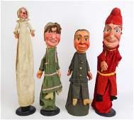 Early Folk Art Puppets