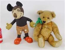 Mickey Mouse & Teddy Bear Lot