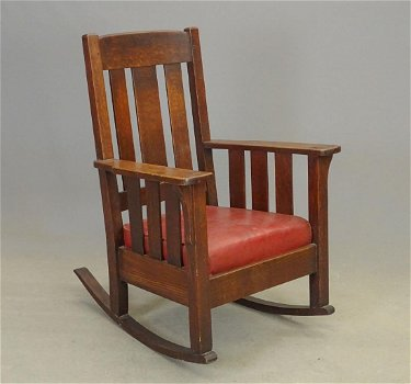 Arts Crafts Rocking Chair Feb 16 2019 Copake Auction Inc In Ny