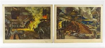 Peter Helck Vintage Prints