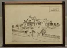 Original Architectural Drawing