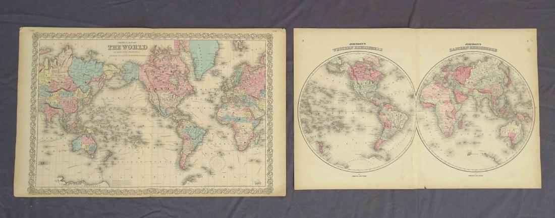 Antique World Maps (2)