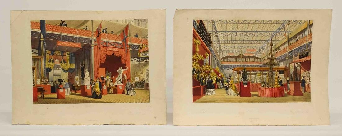 Pair 19th c. Continental Prints
