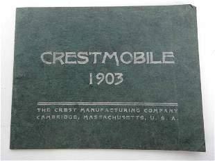 1903 Crestmobile Booklet