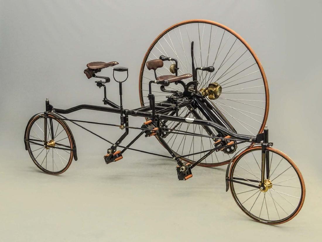 Replica Rotary Tandem Bicycle