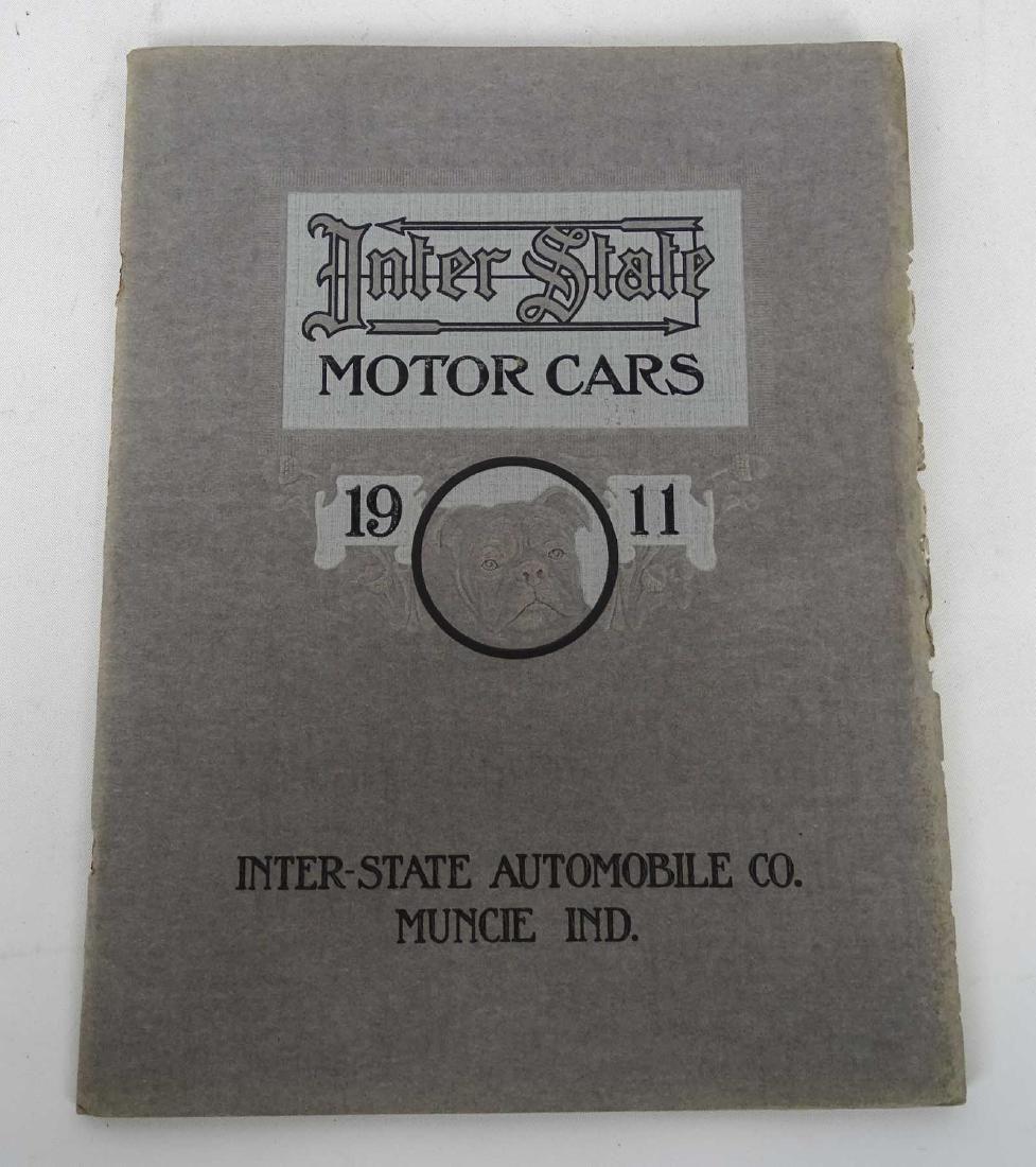 1911 Interstate Motor Cars Catalog