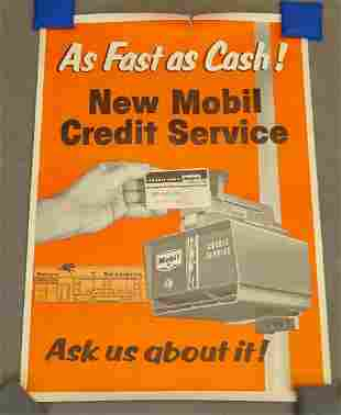 C. 1960's Mobil Poster