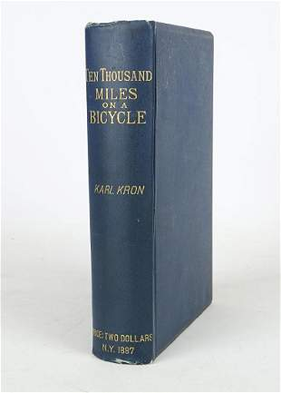 Book: Ten Thousand Miles On A Bicycle