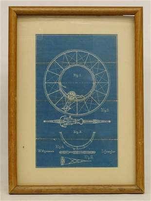 Blueprint For Unusual Bicycle