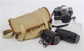 Cannon AE-1 Camera Lot