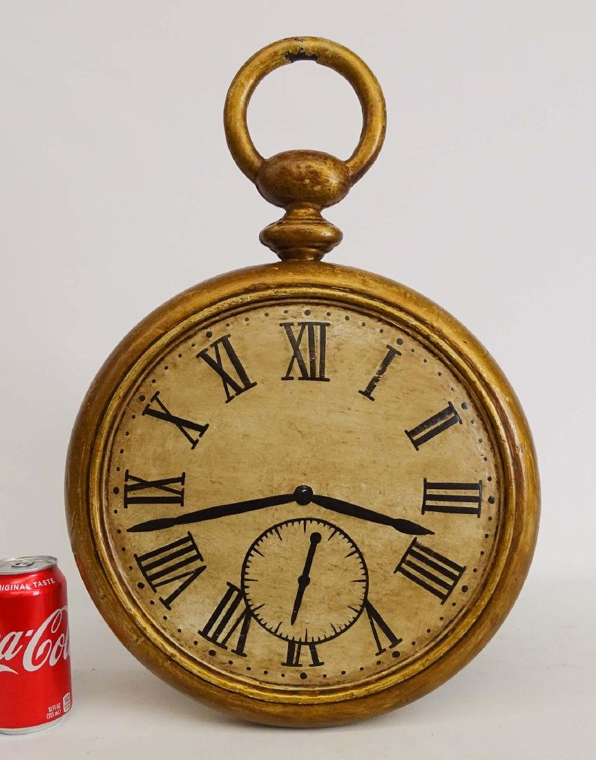 19th c. Iron Clock Trade Sign