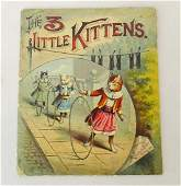 Early Book THE 3 LITTLE KITTENS