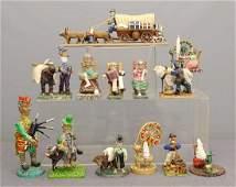 Emal Engleman Folk Art Lot