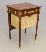 Early 19th c. Boston Work Table