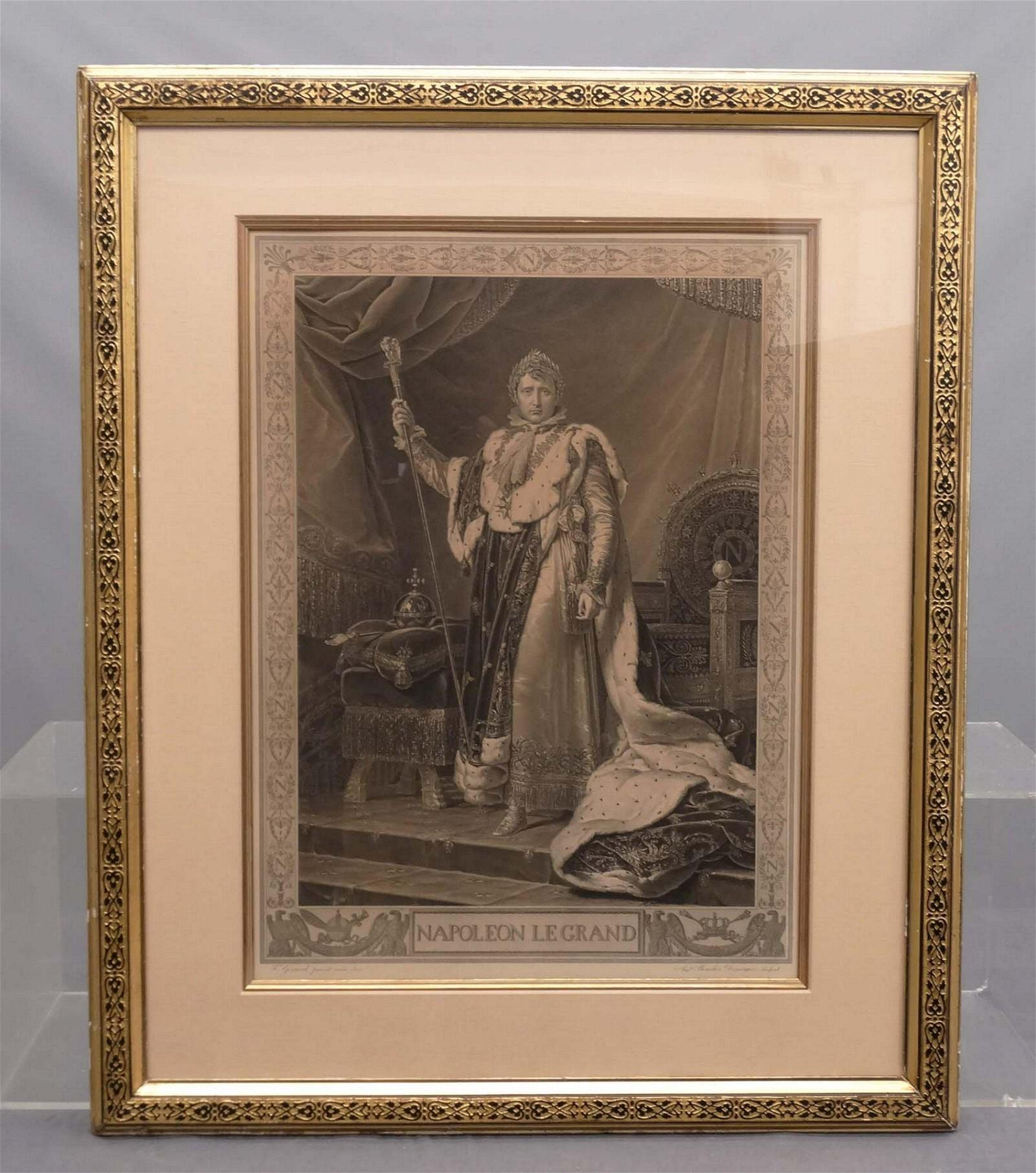 Napoleon Portrait Early Engraving