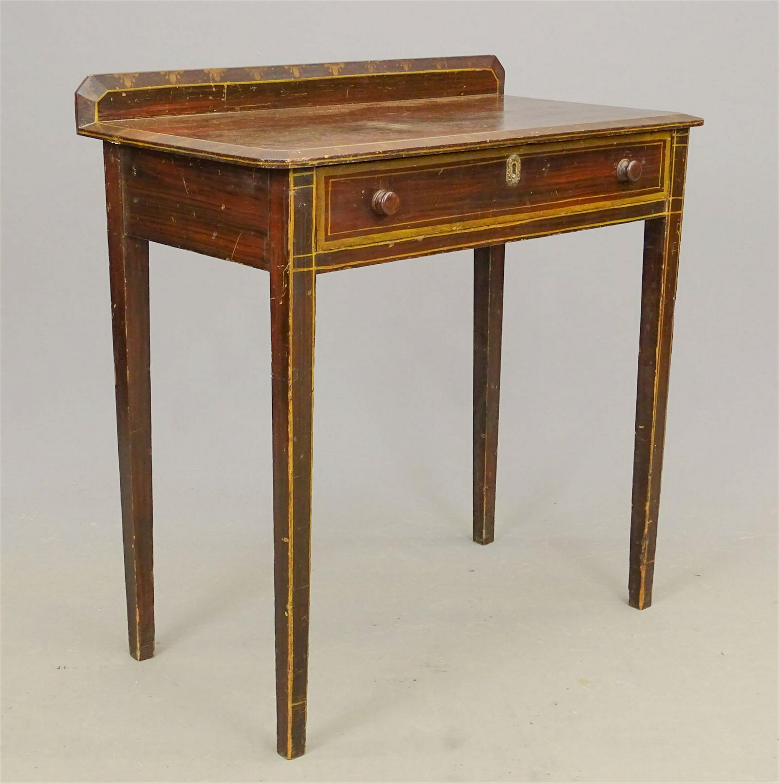 19th c. Single Drawer Stand