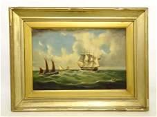 Painting, Seascape